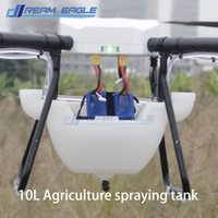 airplane fuel tanks - 10L Agriculture spraying tank Double mouth tank pesticide spraying pot DIY spray tank for agriculture UAV drone