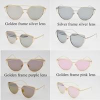 Fashion Man Waterproof Cheap Wholesale Fashion Color Sunglasses Classic Eyeglasses Retro Aviator Mirror Reflective Lens Sunglasses Vintage Outdoor Frog Sunglasses
