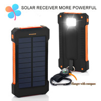 - mobile phone solar pack - TOP Solar Power Bank Dual USB Travel Power Bank mAh External Battery Portable Charger Bateria Externa Pack for Mobile phone