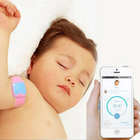 Wholesale Retail Children iFever intelligent wearable electronic thermometer Bluetooth smart baby sleep monitor household thermometer