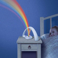 baby rooms ideas - Colorful rainbow night lamp LED protection light Nursery Room Decoration christmas gift Creative idea Gifts for baby