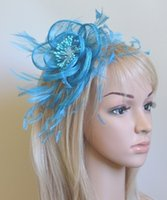 Wholesale colors sinamay fascinator hats nice fascinator hair accessories Festive headwear Party Supplies Party Hats pieces L41