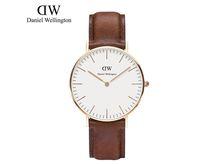 Wholesale DW Retail Fashion Luxury Brand DW Watch Style Nylon Strap MM Daniel Men Women Wellington Wristwatch montre femme