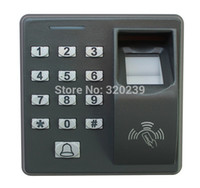 Wholesale Biometric Fingerprint Access Control Machine Electric RFID Reader Scanner Sensor Code System For Door Lock