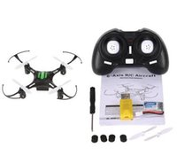 Wholesale 100 Original JJRC H8 Mini Drone G CH Axis RTF RC Quadcopter Degree Roll CF mode One Press Return professional drones aerial camera