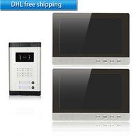 apartment door phone - xinsilu wired video door phone inch TFT LCD screen apartments doorbelll