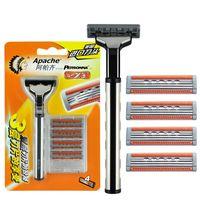 Wholesale Apache3 layerHand shaver Razor Tool carrier Cutter head