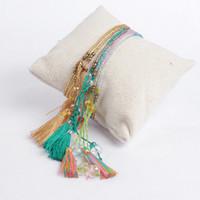 beaded friendship bracelets - Bracelets Women Bohemian Jewelry Bracelet Boho Femme Bijoux Friendship Seed Beads Handmade Tassel Love Mix Order