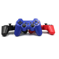 Wholesale Six Axis PS3 Game Controller PS3 Gamepad Controller Wireless Bluetooth Joystick Game Controller For Sony Playstation Pieces DHL Free