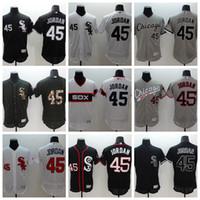 Wholesale Chicago White Sox Jordan Baseball Flexbase Jerseys Men Jersey Black Gray Throwback Army Green Salute To Service Fashion Stars Stripes