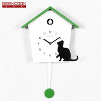 Wholesale Contracted time cuckoo clock the northern wind hour cuckoo clocks rural wind the clock