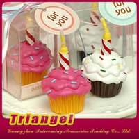 Wholesale Top Quality Wedding Favor Pastry Cakes Candles For Wedding Birthday Christmas Party Decoration
