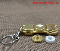 bears homes - 2017 new Fidget Spinner EDC High Copy Hand Spinner Spin Toy Bronze Metal Custom Bearing Fidget Toys