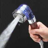 Wholesale Anion Spa Three Function High Pressurize Water Saving Hand Shower Bathroom Shower Head