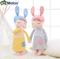 Wholesale Lovely Metoo Plush Doll quot CM Cute Bunny Rabbit Plush Stuffed Toy Girls Lovely Gift