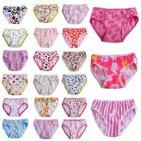 Wholesale 2016 Fashion New Baby Girls Underwear Cotton Panties For Girls Kids Short Briefs Children Underpants Z3