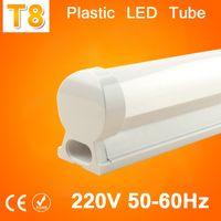 Wholesale LED Tube T8 Light v v mm w LED T8 Integrated Tube Wall Lamps Cold White T8 led Bulb Light