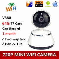 Wholesale 2016 Home Security Smart IP Camera Wireless Mini IP Camera Surveillance Wifi P Night Vision WIFI CCTV Camera Baby Monitor