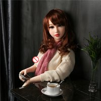Wholesale Silicone Sex Dolls cm Big Soft Breast Japanese Love Real Life Sex Dolls Real Size Full Body Soild Tpe Silicone Mini Doll