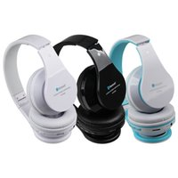 Foldable Bluetooth inalámbrico estéreo HIFI auriculares bajos Headse BT809t Mic FM TF ranura para iPhone iPad PC