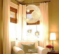 Wholesale Modern Moon Star Aluminium Ceiling Light Bedroom balcony corridor Room Pendant Light With G4 Bulbs creative chandeliers