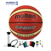 Wholesale original molten basketball ball G7 CF200 NEW Brand High Quality Genuine Molten PU Material Official Size7 Basketball