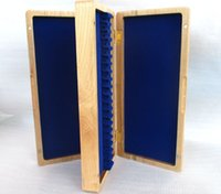 Wholesale Beautiful Wooden oboe reed case hold reeds Strong