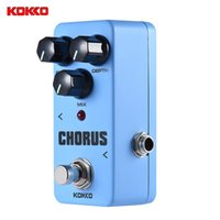 Wholesale KOKKO FCH2 Mini Chorus Pedal Portable Guitar Effect Pedal High Quality Guitar Parts Accessories Guitarra Effect Pedal