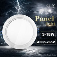 Wholesale LED Panel Light w w w w w w w LED Downlight V Led Ceiling Recessed down lamp downlight driver panels round