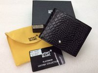Wholesale MB High Quality Leather Fashion Dollar Wallet Hot Sale Package Box Pouch