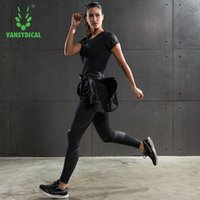 Wholesale Fitness Suit Female Suit Gym Winter and Winter Yoga Sportswear Jacket Running Suit Three or Four Sets of Fast Dry Clothes