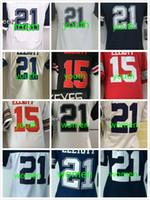 al por mayor camisetas de fútbol juvenil de porcelana-EZEKIEL ELLIOTT JUEGOS DEL JUEGO DE EZEQUIEL ELLIOTT JUEGOS NUEVOS JUEGOS DE FÚTBOL 2017 JUEGOS AZULES ROJOS DEL MUNDO