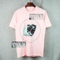Wholesale 2016 Fashion t shirts GIVEN Pentagram baboons printing autumn true brand hip hop blouses men plus size pink XL