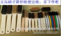 Wholesale 4 rows of bristles brush plastic handle text play brush King Kong walnut Bodhi olive nuclear sculpture clean dust removal