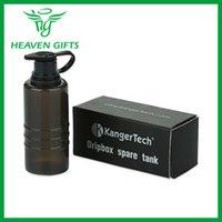 achat en gros de bouteilles compressibles gros-Vente en gros-100% original Kangertech Dripbox Réservoir de rechange Cigarette électronique Bouteille Squeezable Qualité pour Kanger Dripbox Kits E-Cigarette