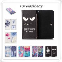 Wholesale PU Leather Phone Cases For Blackberry DTEK50 DTEK60 Leap Priv Wallet Style With Card Slot Cover Case