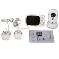 Wholesale 3 inch Wireless baby Monitor High Resolution Portable LCD Display Nanny Security Camera Night Vision Temperature Monitoring