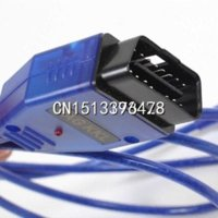 Wholesale USB Cable Car Diagnose tool KKL VAG OBD2 OBD OBDII COM Scanner for VW AUDI
