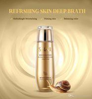 aqua cosmetics - NEW Bio aqua brand snail slime wonder essence watertoner embellish skin toner Brighten firming skin Lotion oilcontrol pore cosmetics