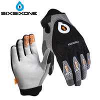 Wholesale- 661 SIXSIXONE D3O over knuckles Gants EVO MTB Racing motocross gants Downhill Dirt Mountain Bike Bicycle Cyclisme Gant M L XL