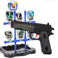 Wholesale 2016 Real Sale Boys High Quality Pump Pistol Airsoft gun Airgun Soft Bullet Gun Paintball Toy Cs Game Shooting Water Crystal