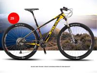 Wholesale 22 Speed Carbon Fiber T800 carbon fibre bike inch Mountain Bike Ultralight MTB Bicycle Cycle M8000 Derailleur Oil Gas Brake