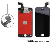 Wholesale phone LCD Screen Panel For Grade A LCD Display Touch Screen Digitizer Full Assembly for iPhone S C Replacement Repair Parts free shi
