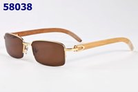 Las nuevas gafas Titanium de los nuevos hombres del estilo marcan marcos de espectáculo del marco de la mitad M8001 Los vidrios ópticos de la lente del marco óptico de la alta calidad