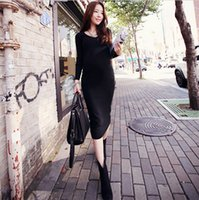 Wholesale Super Stretched Maternity Dress Comfortable Knitted Clothes for Pregnant Women Autumn Winter Clothing for Pregnancy