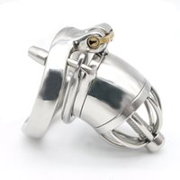Wholesale Latest Design Chastity Cage MALE Chastity Devices Stainless Steel Chastity Belt Cock Cage sex toy for man