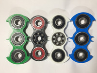 bat style - New bat style HandSpinner fingertips spiral fingers gyro Torqbar Brass pure stainless steel bearings with ceramics DHL shipping E1987