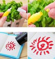 puffy paint - Piece Popcorn Paint Pen Puffy Embellish Decorate Bubble Graffiti DIY Stationery