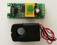Wholesale PEACEFAIR AC V A Electric Monitoring And Communication Module TTL Port Power Energy Voltmeter with Split CT