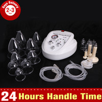 Wholesale 3 Size Cups Vacuum Pump Therapy Breast Enlargement Enhancement Breast Massager Lifting Body Shaping Beauty Equipment
